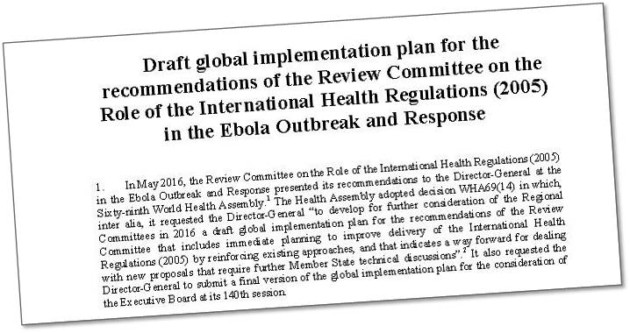World Health Organization will improve epidemic preparedness, detection and response