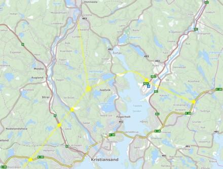 Veien fra Vennesla