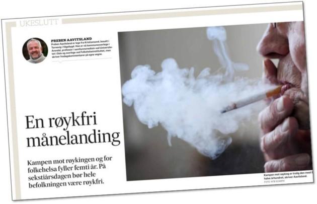 Ukeslutt-kommentarer i Fædrelandsvennen