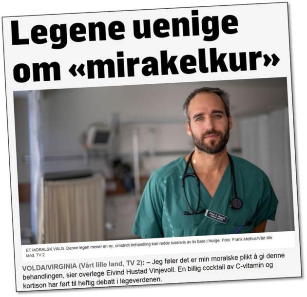 Helter og skurker i TV 2-dokumentar om behandling av septisk sjokk
